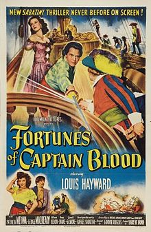 poster Fortunes of Captain Blood (1950)