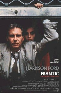 poster Frantic (1988)
