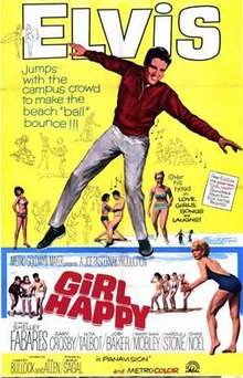 poster Girl Happy (1965)