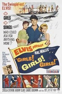 poster Girls! Girls! Girls! (1962)