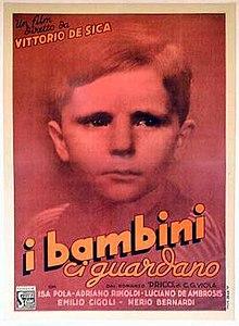 poster I Bambini ci guardano (1944)