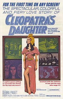 poster Il sepolcro dei re - Cleopatra's Daughter (1960)