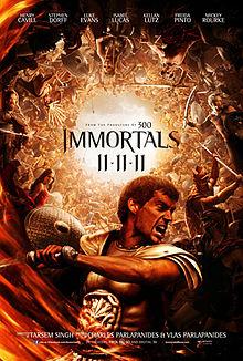 poster Immortals (2011)