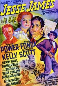 poster Jesse James (1939)