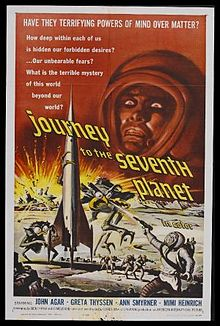 poster Journey to the Seventh Planet (1962)