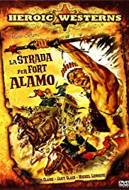 poster La strada per Fort Alamo (1964)