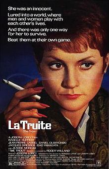 poster La truite (1982)