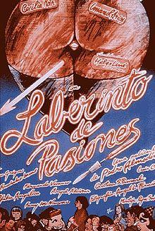 poster Laberinto de Pasiones (1982)