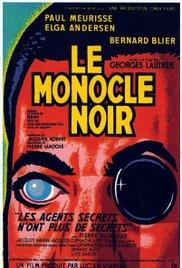 poster Le Monocle noir (1961)