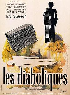 poster Les diaboliques - Diabolique (1955)