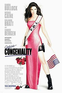 poster Miss Congeniality (2000)