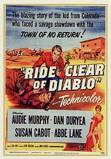 poster Ride Clear of Diablo (1954)