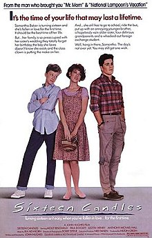 poster Sixteen Candles (1984)