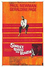 poster Sweet Bird of Youth (1962)