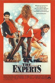 poster The Experts (1989)