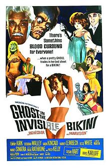poster The Ghost in the Invisible Bikini (1966)