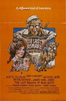 poster The Last Remake of Beau Geste (1977)