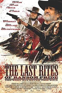 poster The Last Rites of Ransom Pride (2009)