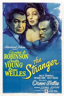 poster The Stranger (1946)