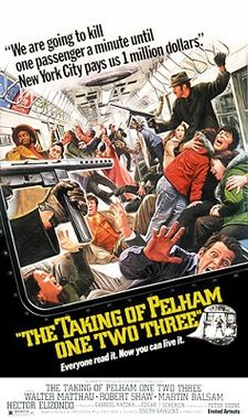 poster The Taking of Pelham One Two Three (1974)