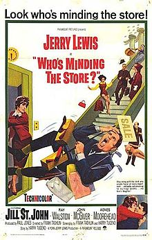 poster Who's Minding The Store (1963)