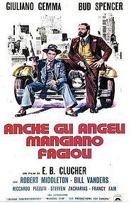 poster Anche gli angeli mangiano fagioli (1973)
