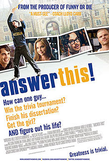 poster Answer This! (2011)