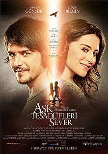 poster Ask Tesadufleri Sever (2011)