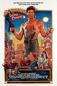 poster Big Trouble in Little China (1986)