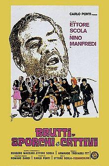 poster Brutti, sporchi e cattivi (1976)