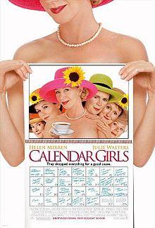 poster Calendar Girls (2003)
