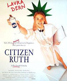 poster Citizen Ruth (1996)