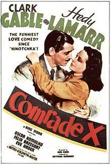 poster Comrade X (1940)
