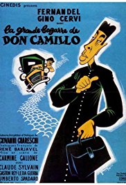 poster Don Camillo e l'on. Peppone (1955)