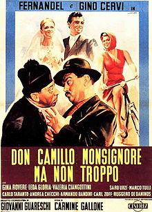 poster Don Camillo monsignore... ma non troppo (1961)