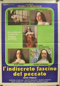poster Entre tinieblas (1983)
