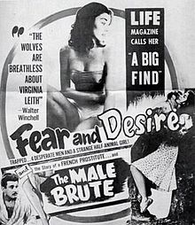 poster Fear and Desire (1953)