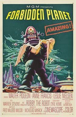 poster Forbidden Planet (1956)