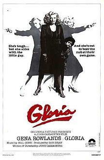 poster Gloria (1980)