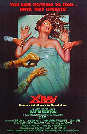 poster Hospital Massacre (1982)