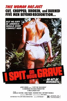 poster I Spit On Your Grave (1978)