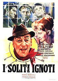 poster I soliti ignoti (1958)