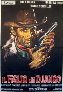 poster Il figlio di Django - Return of Django (1967)
