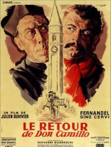 poster Il ritorno di Don Camillo (1953)