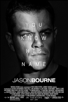 poster Jason Bourne (2016)