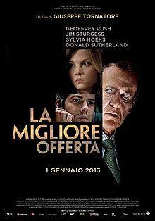 poster La migliore offerta - The Best Offer (2013)