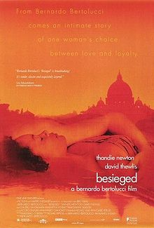 poster L'assedio - Besieged (1998)