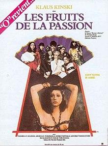poster Les fruits de la passion (1981)