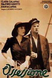 poster Ossessione aka Les amants diaboliques (1943)