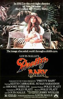 poster Pretty Baby (1978)